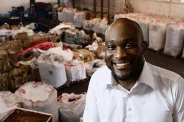 Edem D'Almeida : CEO de AGR : Startup de gestion des déchets.
