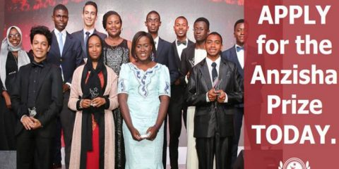 Jeunes entrepreneurs africains (Prix Anzisha 2017)