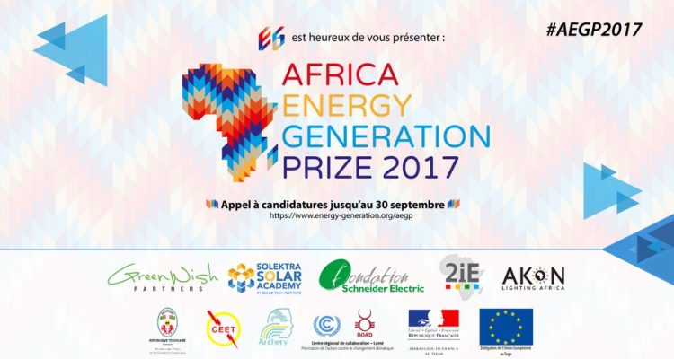 Africa Energy Generation Prize 2017