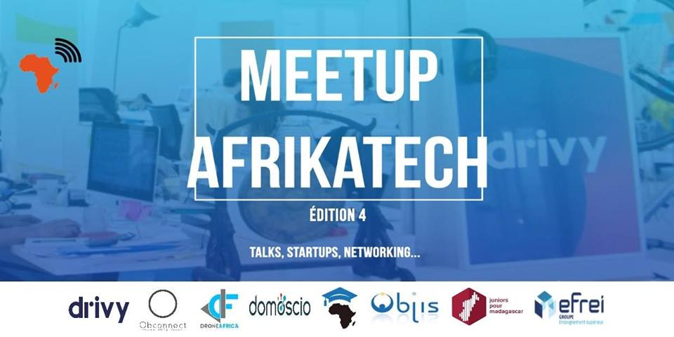 AfrikaTech Meetup 4 background