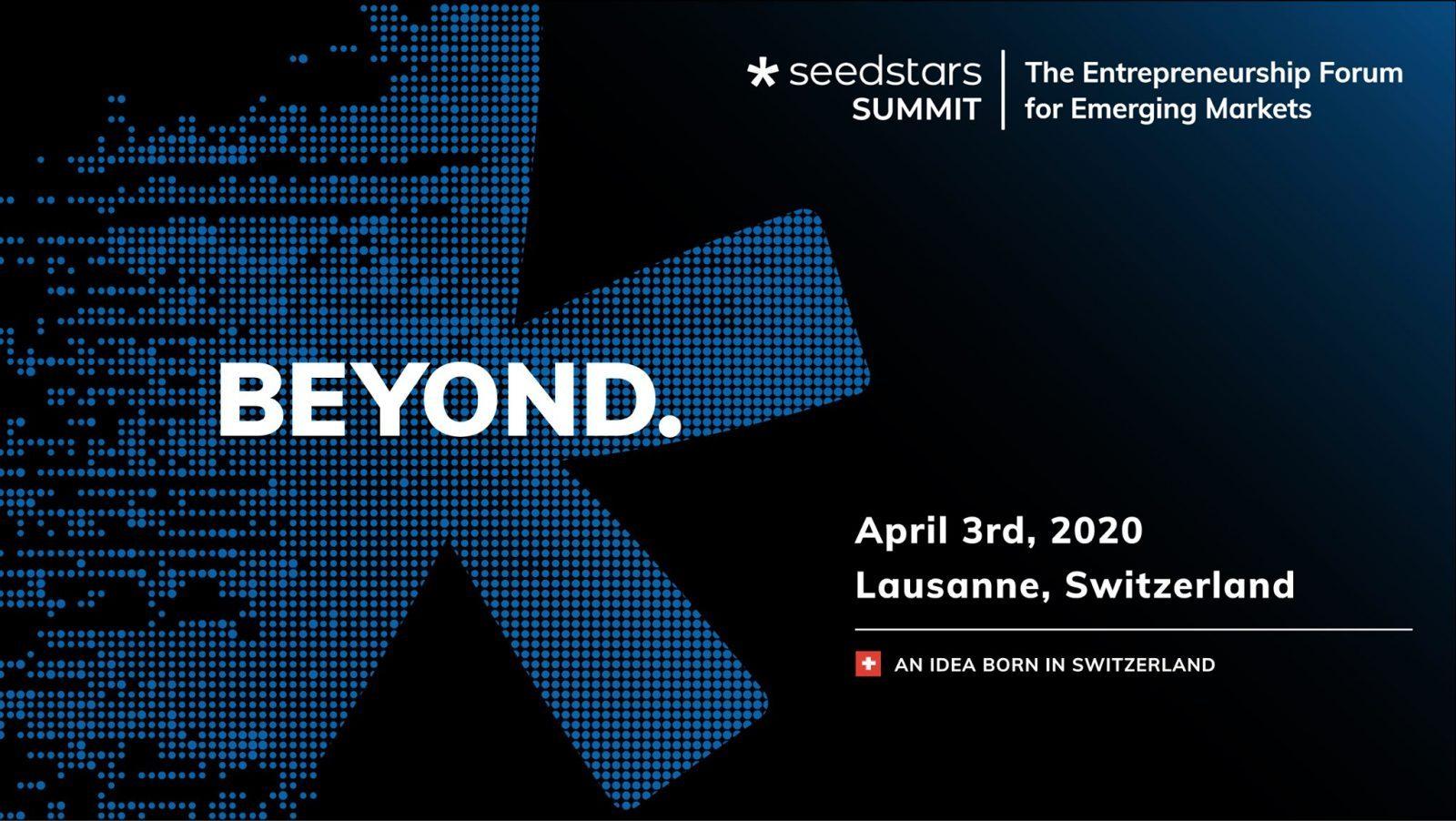 BEYOND SEEDSTARS SUMMIT 7ème EDITION