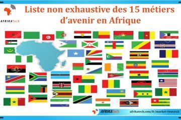 Liste non exhaustive des 15 métiers d'avenir en Afrique