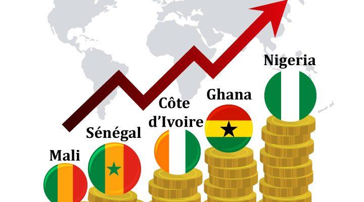 Le top 5 des pays les plus riches en Afrique de l'Ouest