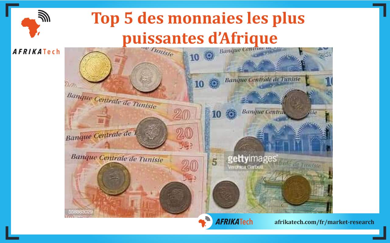 Top 5 des monnaies les plus puissantes d'Afrique